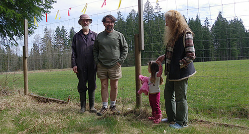 planting the first oak