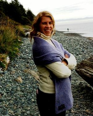 Rebecca on French Beach