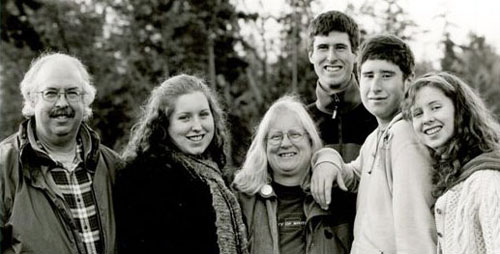 Dave and Genevieve with their four children