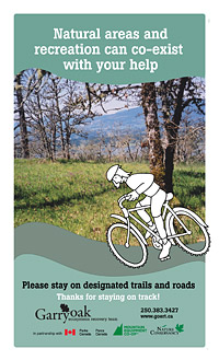 Stay on Track poster, sample A